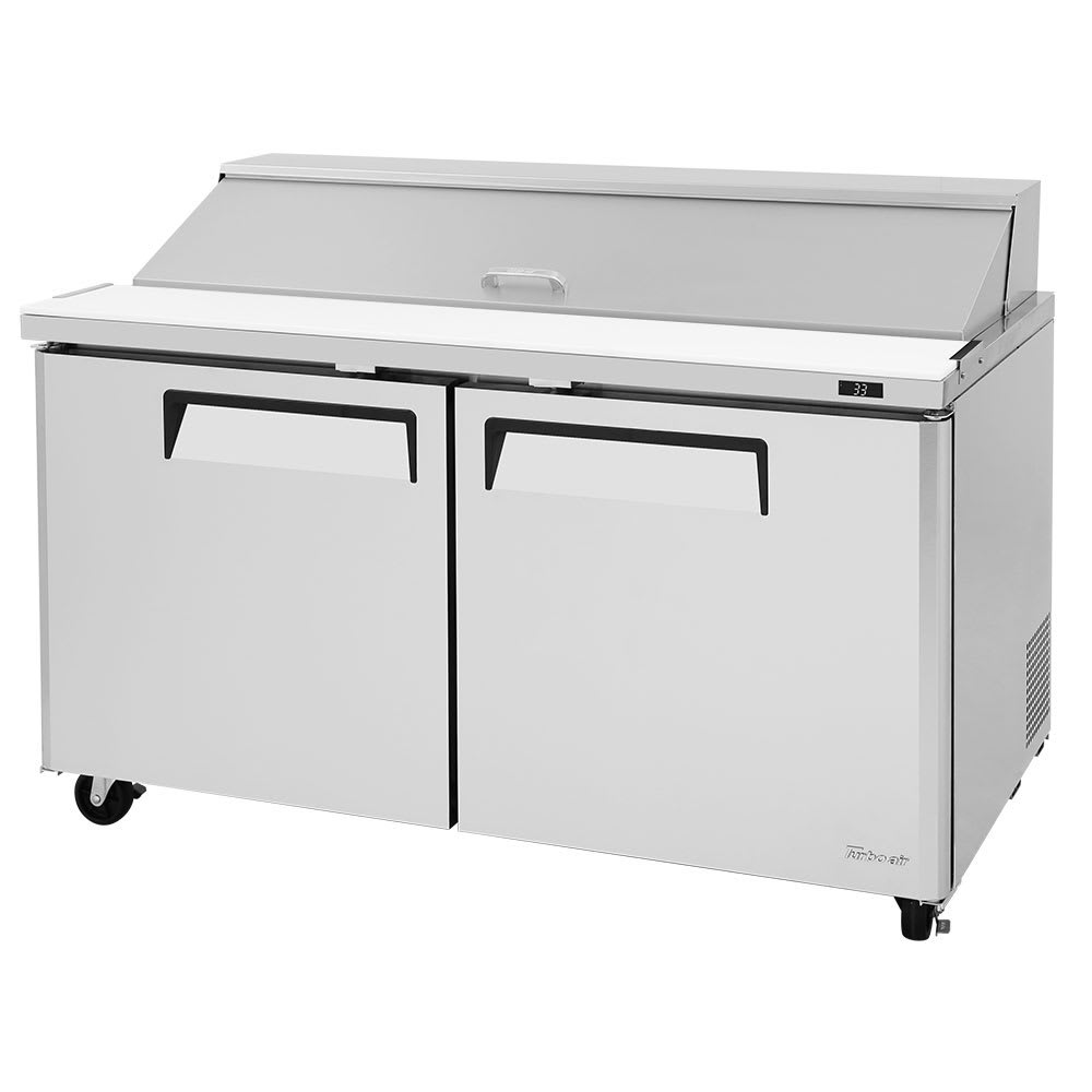 "Turbo Air MST-60-N 60.25"" Sandwich/Salad Pep Table w/ Refrigerated Base, 115v"