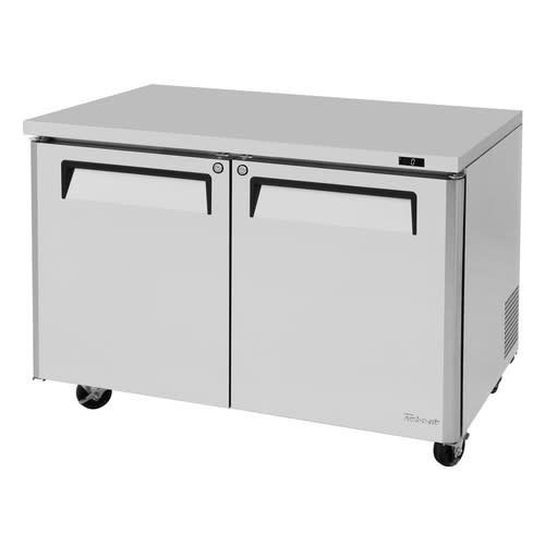 Turbo Air MUF-48-N 12.86-cu ft Undercounter Freezer w/ (2) Section & (2) Door, 115v