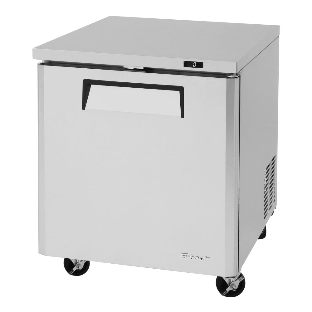 Turbo Air MUR-28 7 cu ft Undercounter Refrigerator w/ (1) Section & (1) Door, 115v