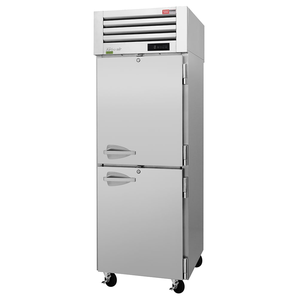 """Turbo Air PRO-26-2F-N 29"""" Single Section Reach-In Freezer, (2) Solid Doors, 115v"""