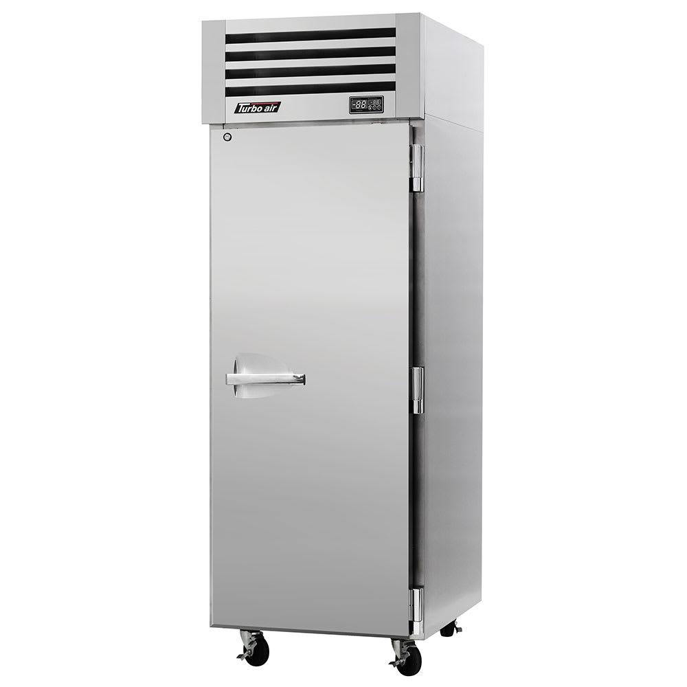 "Turbo Air PRO-26R-PT 28.75"" Single Section Pass-Thru Refrigerator, (2) Solid Doors, 115v"