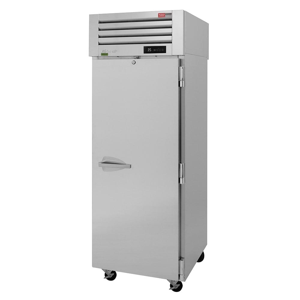 "Turbo Air PRO-26R-PT-N 29"" Single Section Pass-Thru Refrigerator, (2) Solid Doors, 115v"