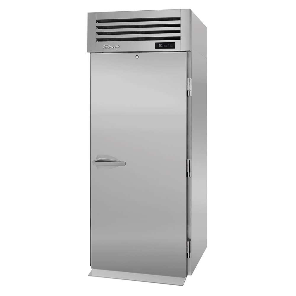 "Turbo Air PRO-26R-RI-N 34"" Single Section Roll-In Refrigerator, (1) Solid Door, 115v"
