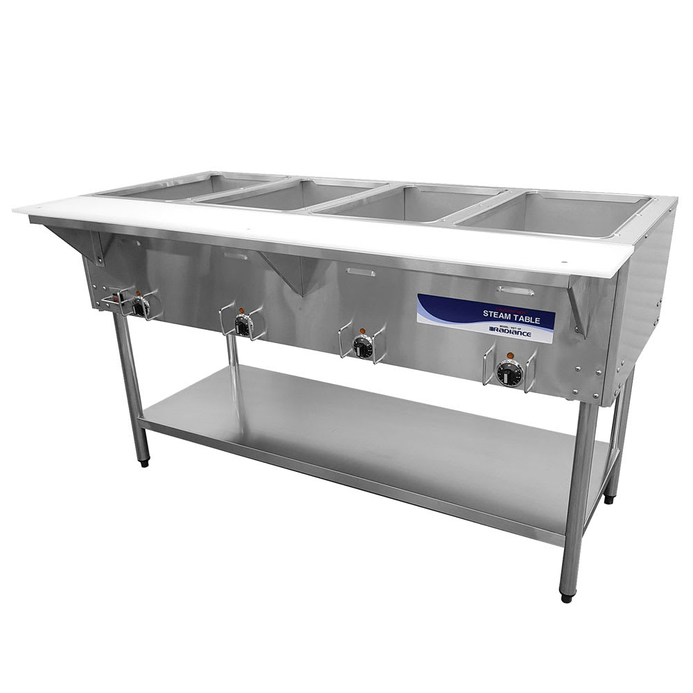 Turbo Air RST-4P Hot Food Steam Table w/ (4) Wells, 120v