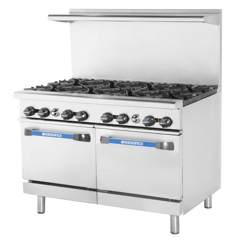 "Turbo Air TAR-8 48"" 8-Burner Gas Range, LP"
