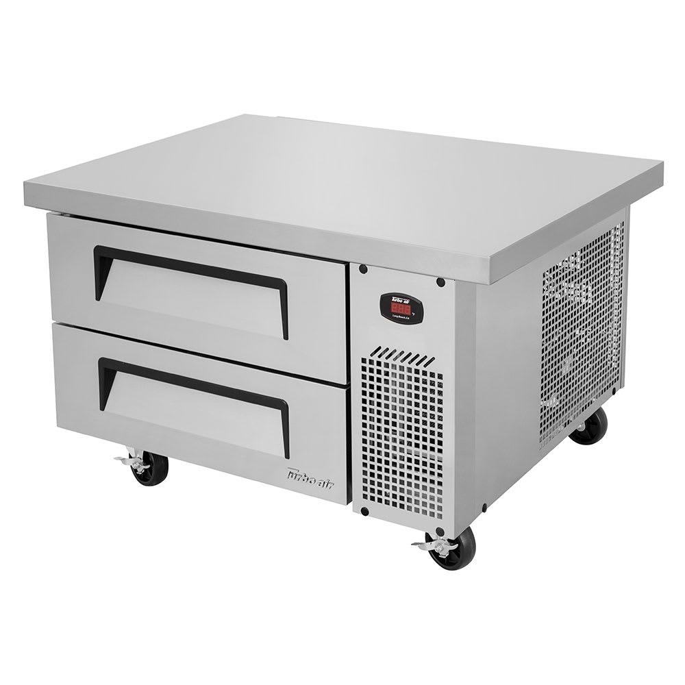 """Turbo Air TCBE-36SDR-E-N6 41.63"""" Chef Base w/ (2) Drawers, 115v"""