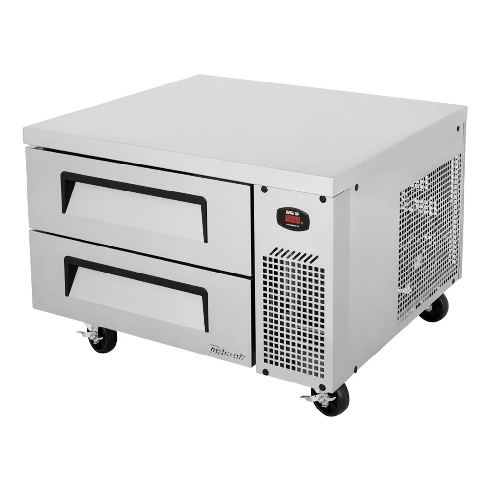 "Turbo Air TCBE-36SDR-N6 36"" Chef Base w/ (2) Drawers - 115v"