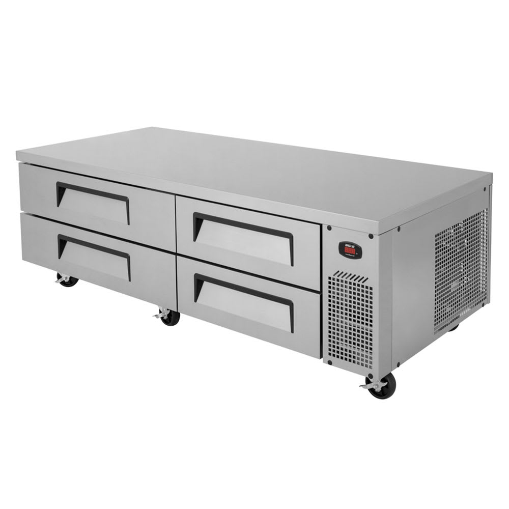 "Turbo Air TCBE-82SDR 84"" Chef Base w/ (4) Drawers - 115v"