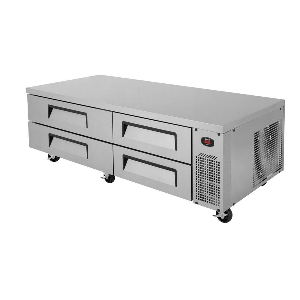"""Turbo Air TCBE-82SDR-N 84"""" Chef Base w/ (4) Drawers - 115v"""