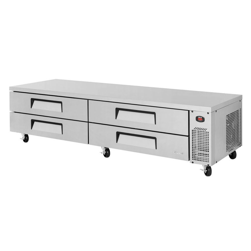 """Turbo Air TCBE-96SDR 96"""" Chef Base w/ (4) Drawers - 115v"""