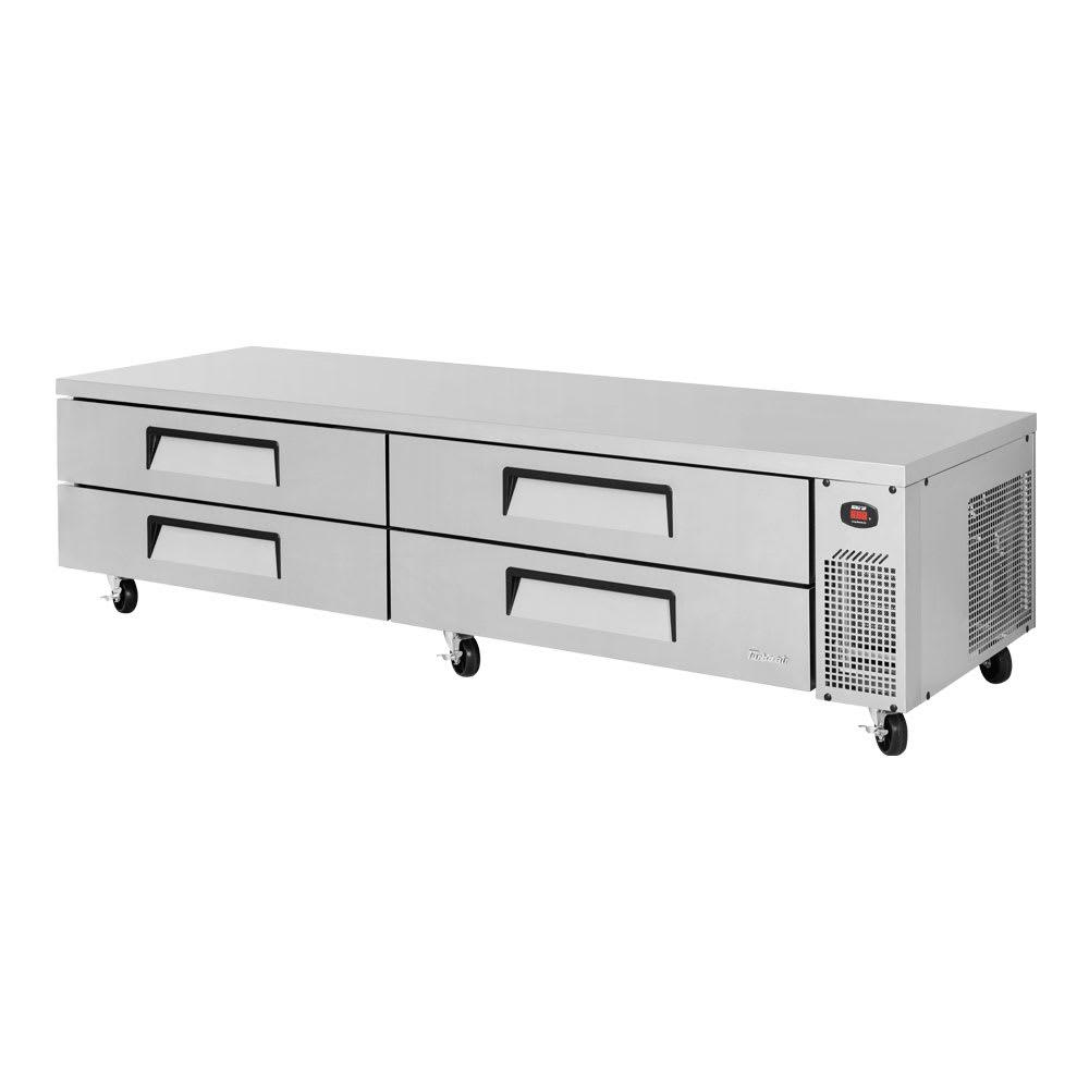 """Turbo Air TCBE-96SDR-N 96"""" Chef Base w/ (4) Drawers - 115v"""