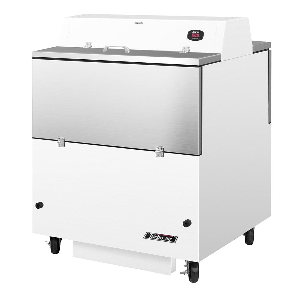 Turbo Air TMKC-34D-WA Milk Cooler w/ Top & Side Access - (512) Half Pint Carton Capacity, 115v