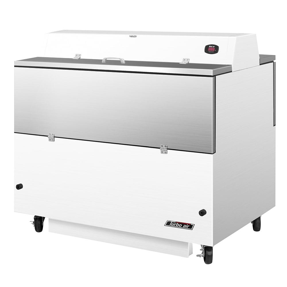 Turbo Air TMKC-49D-WS Milk Cooler w/ Top & Side Access - (768) Half Pint Carton Capacity, 115v