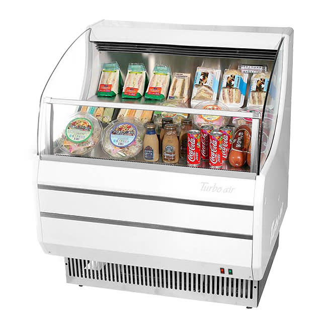 """Turbo Air TOM-30SW-N 28"""" Horizontal Open Air Cooler w/ (3) Levels, 115v"""
