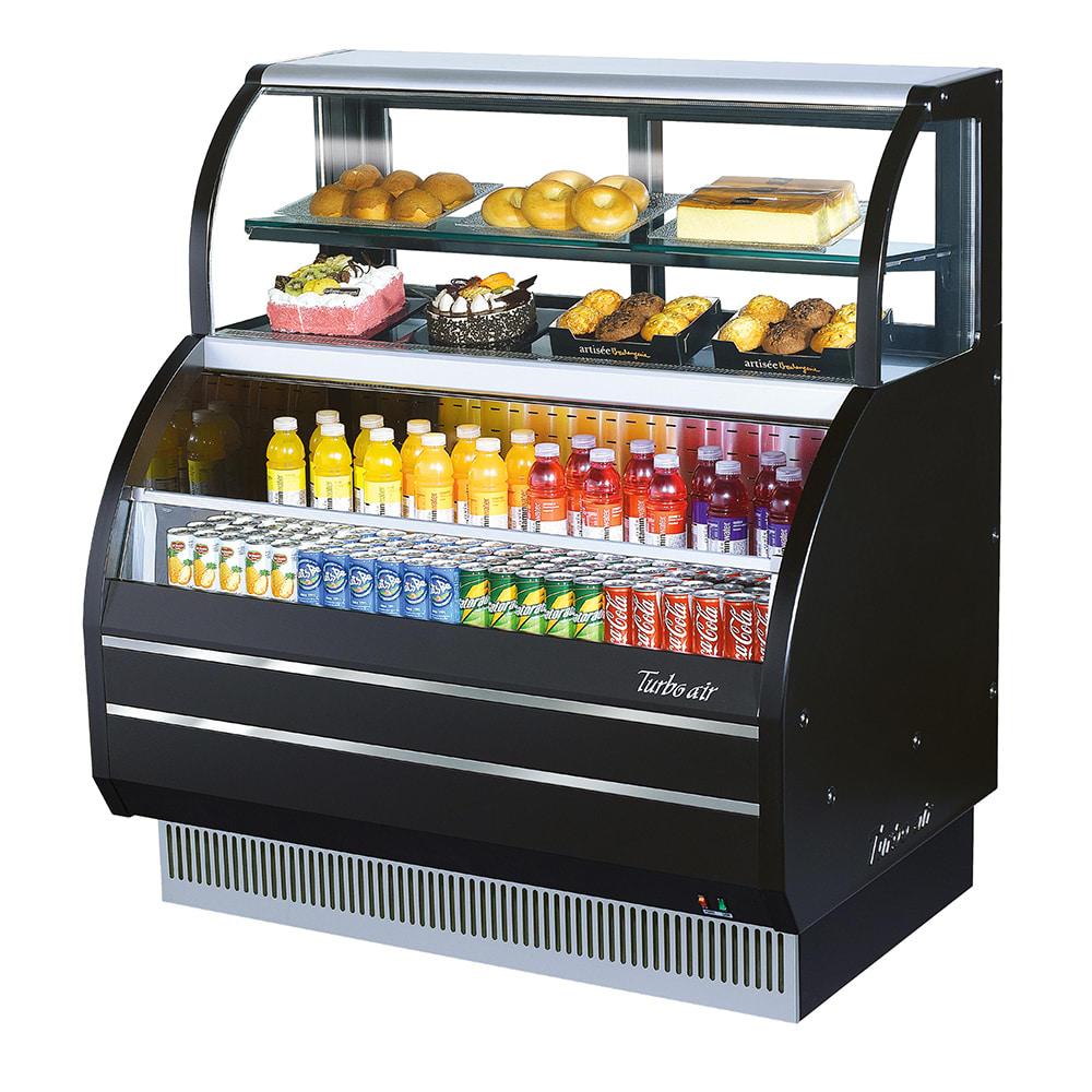 "Turbo Air TOM-W-60SB-N 62.63"" Horizontal Open Air Cooler w/ (4) Levels, 115v"