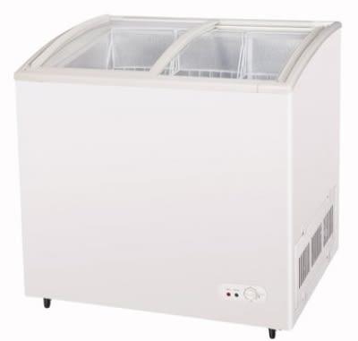 "Turbo Air TSD-35CF 35.25"" Mobile Ice Cream Freezer w/ 2-Baskets, 115v"