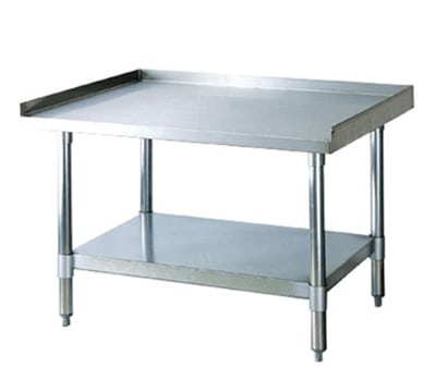 Turbo Air TSE-2836 36-in Equipment Stand, All Stainless Steel, 28-in W