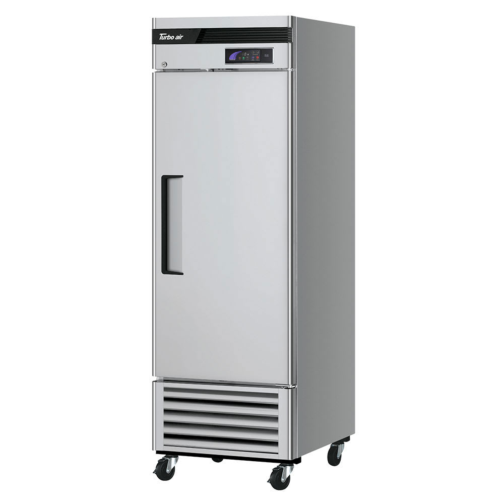 "Turbo Air TSF-23SD-N 27"" Single Section Reach-In Freezer, (1) Solid Door, 115v"