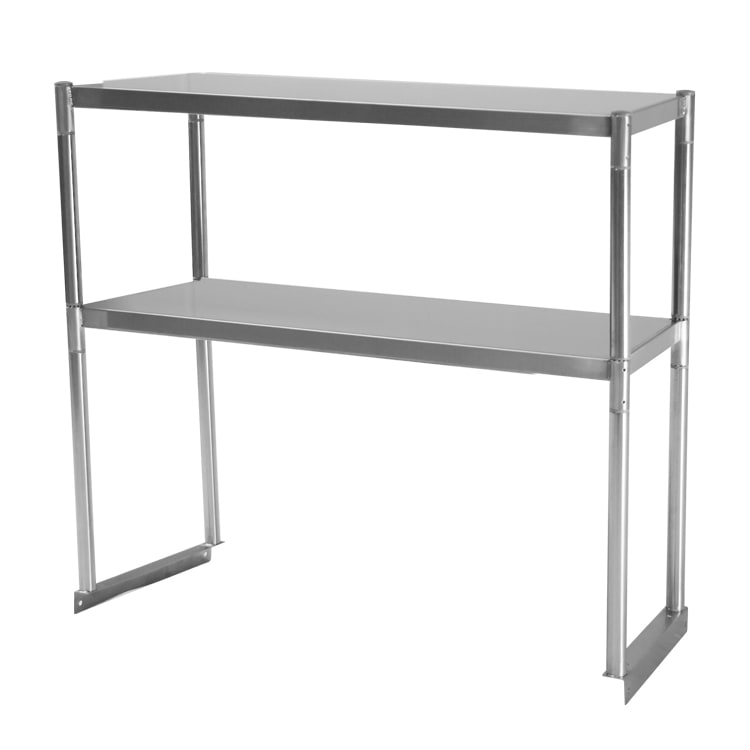 Turbo Air TSOS-3 3-Ft Stainless Steel Over Shelf