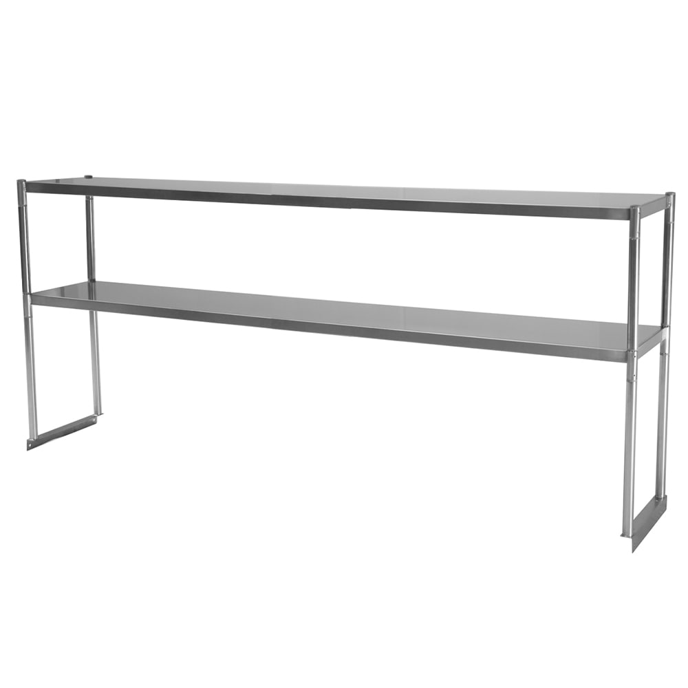 Turbo Air TSOS-6R 6 Ft Stainless Steel Over Shelf For U / C