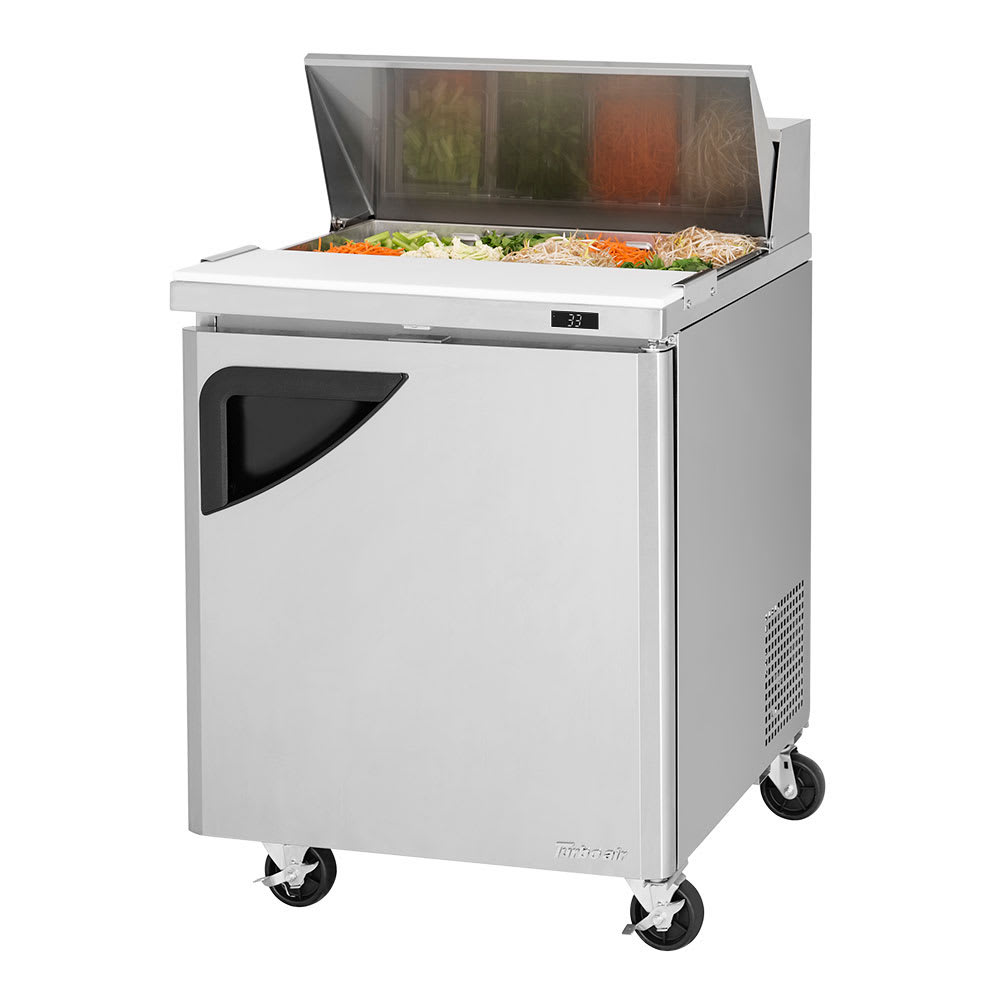 "Turbo Air TST-28SD-N 27"" Sandwich/Salad Prep Table w/ Refrigerated Base, 115v"