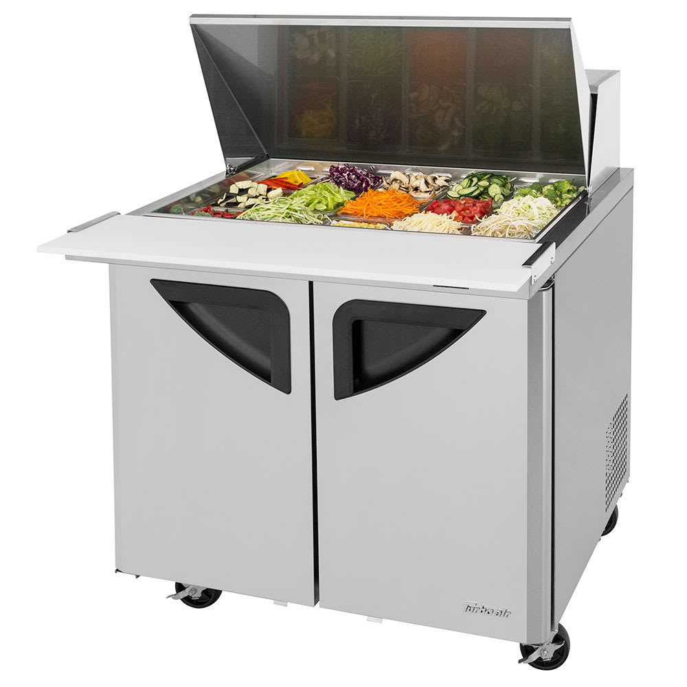 "Turbo Air TST-36SD-15-N6 36.37"" Sandwich/Salad Prep Table w/ Refrigerated Base, 115v"