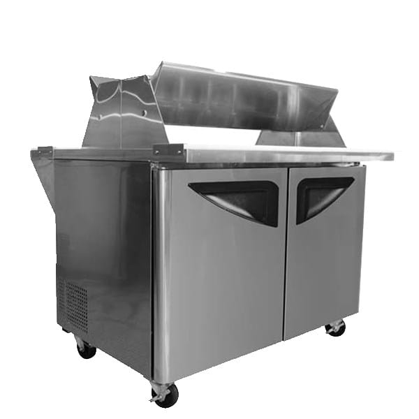 "Turbo Air TST-72SD-30-DS 72.63"" Sandwich/Salad Prep Table w/ Refrigerated Base, 115v"