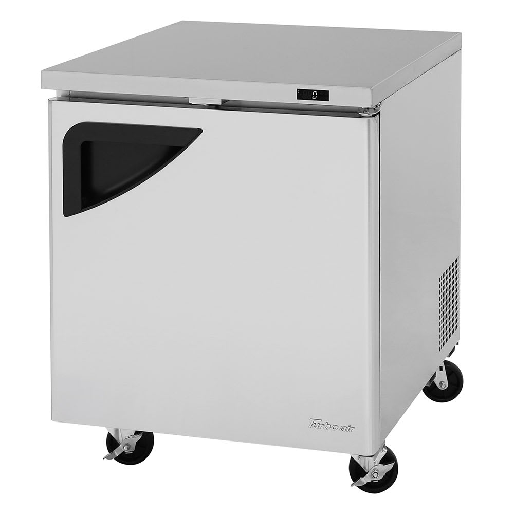 Turbo Air TUF-28SD-N 6.8 cu ft Undercounter Freezer w/ (1) Section & (1) Door, 115v