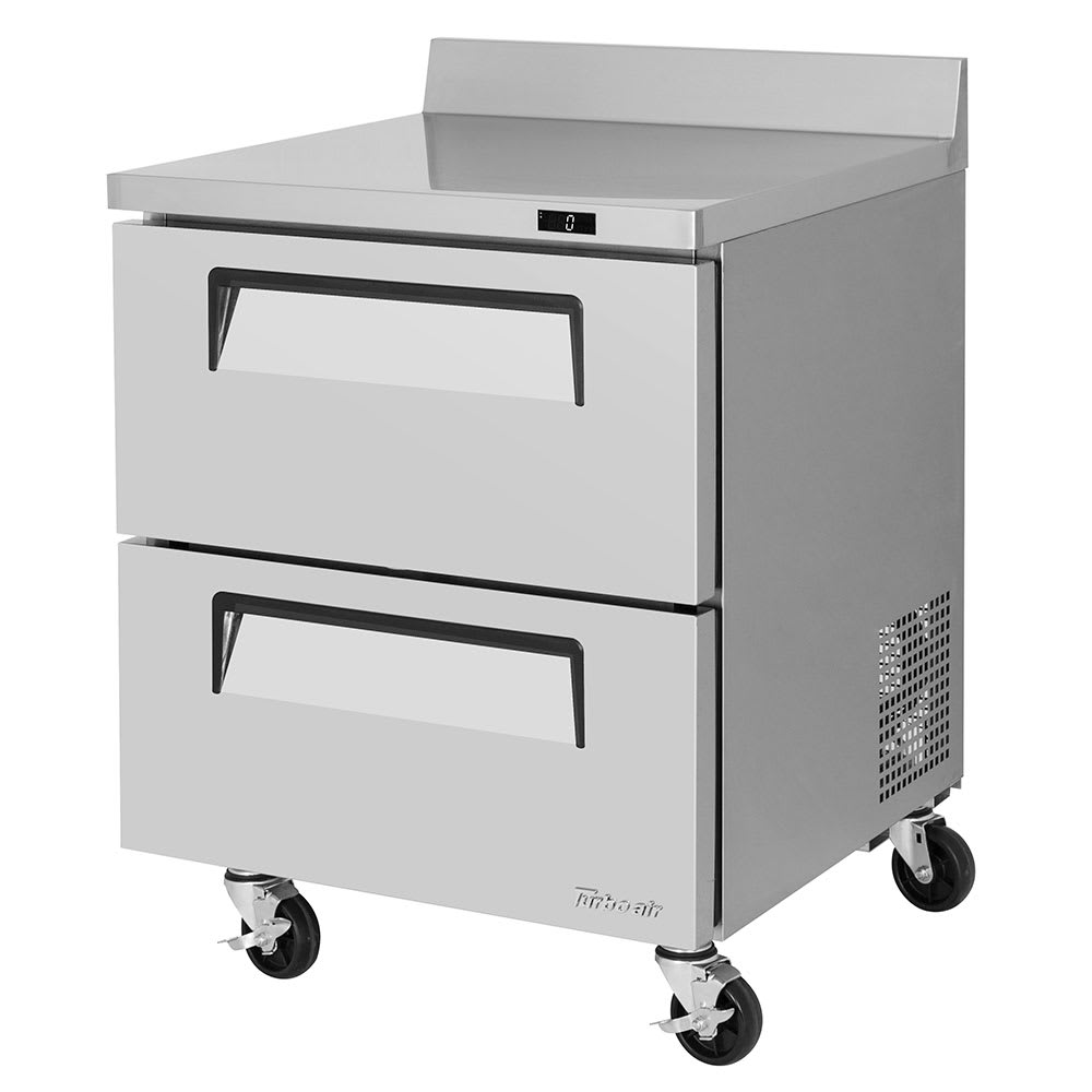 Turbo Air TWF-28SD-D2-N 7 cu ft Worktop Freezer w/ (1) Section & (2) Drawers,  115v