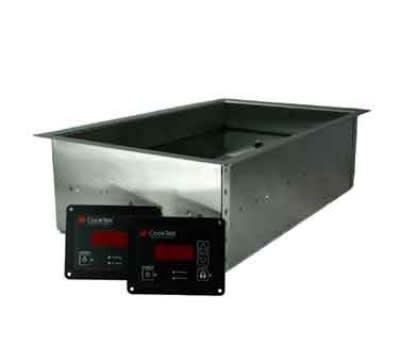 CookTek IHW061-22 2.5-in Deep Rectangular Drop In Hot Food Well, 120 V