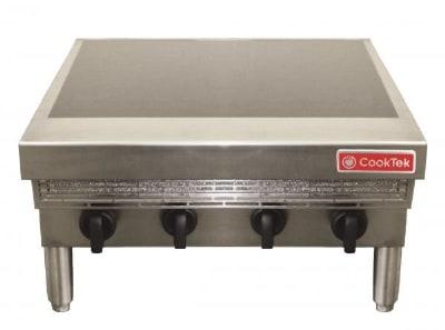 CookTek 645100 Countertop Commercial Induction Range w/ (4) Burners, 208v/3ph