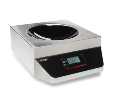 CookTek MW2500G Countertop Commercial Induction Wok Unit, 200-240v/1ph