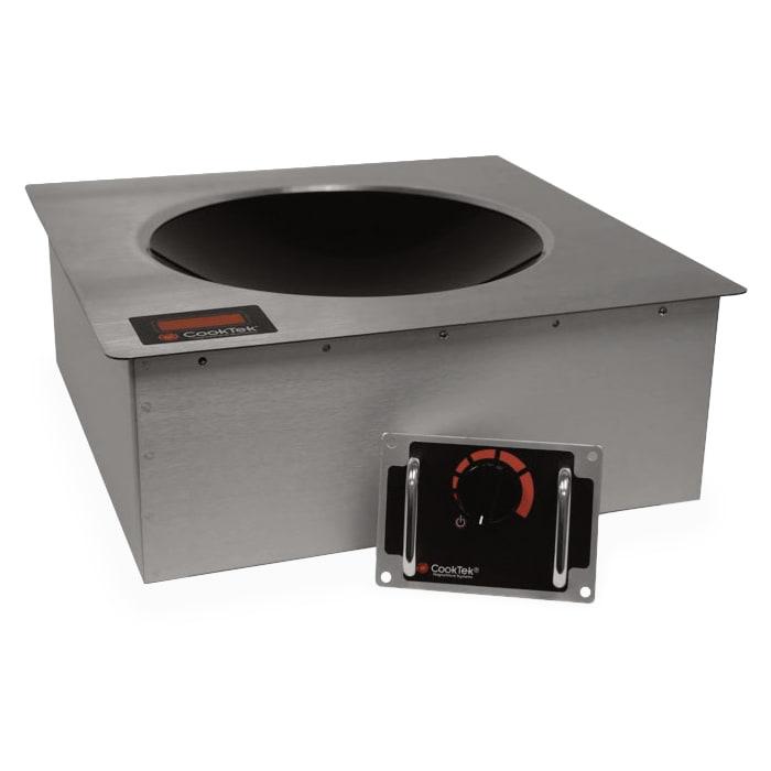 CookTek 605501 Drop-In Commercial Induction Wok Unit, 200-240v/1ph