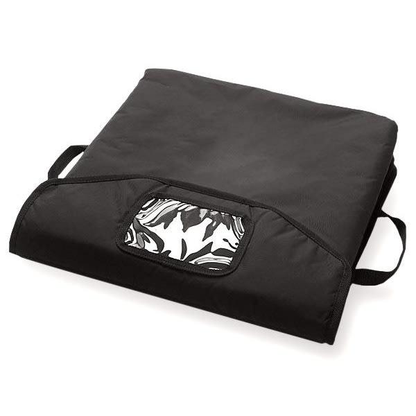 "CookTek STDVV001 VaporVent™ Pizza Delivery Bag - 18.5"" x 18.5"" x 7"", Nylon, Black"