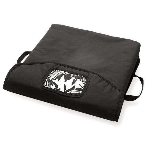 "CookTek XLVV001 18"" VaporVent Pizza Bag w/ PCT Tray, Black"