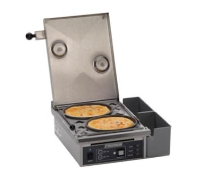 Roundup ES-602 Heat Steam Egg Station w/ Non-Stick Rings, Cooks 6 Eggs, 208v/1ph