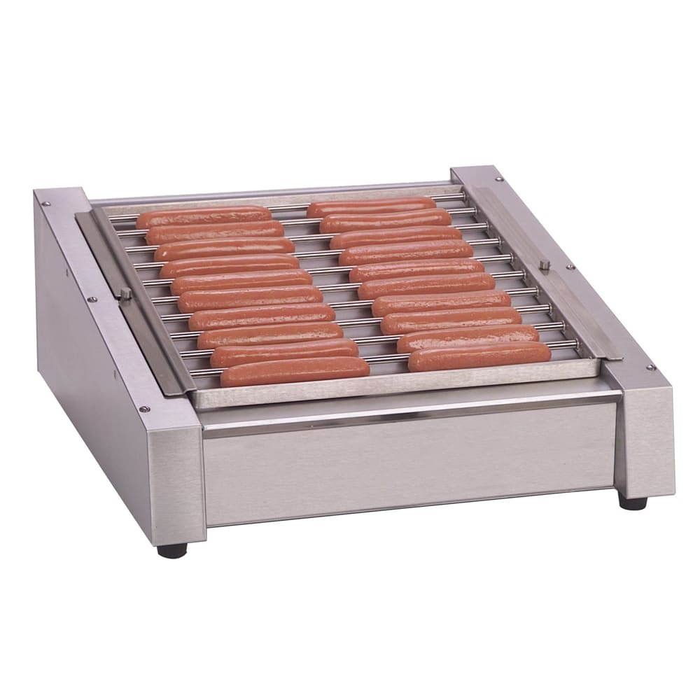 Roundup HDC-20RC 20 Hot Dog Roller Grill - Slanted Top, 120v