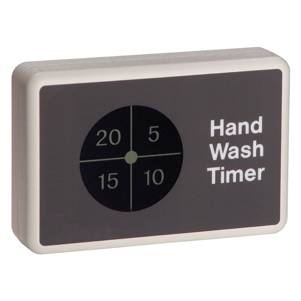 Roundup HWT20 Battery Operated Handwash Timer, 20 Secnds, Mounts to Magnetic Surface