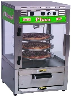 """Roundup PS-314 Pizza Station w/ Oven, Cooks (1) 14"""" Pizza, Displays (3) 14"""" Pizzas"""