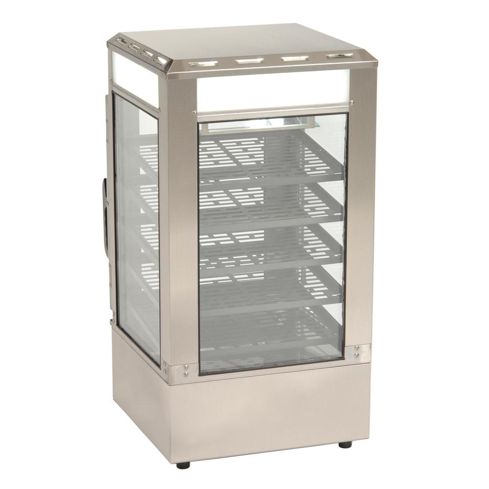 """Roundup SDC-500 16.5"""" Countertop Heated Merchandiser w/ (5) Sliding Shelves, 120v"""
