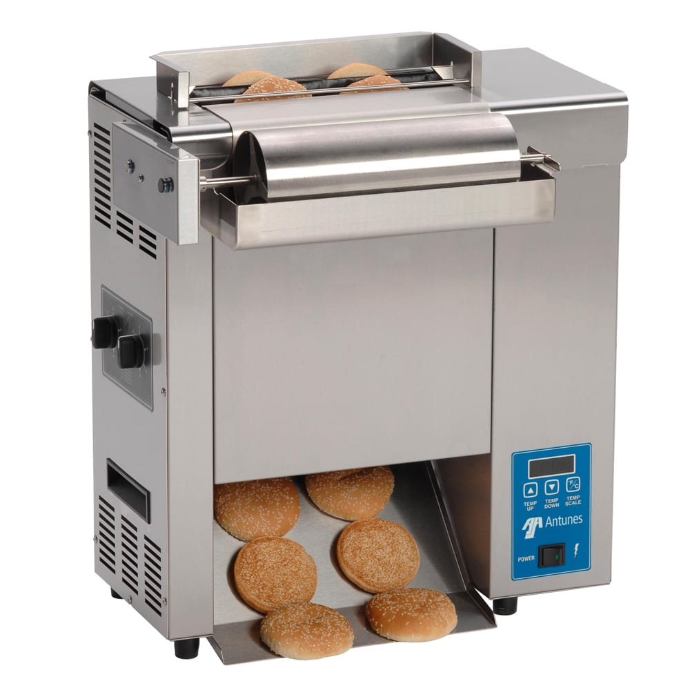 Roundup VCT-2000_9210114 Vertical Toaster w/ 10-Sec Pass-Thru Time & 2-Sided Toasting, 208v/1ph