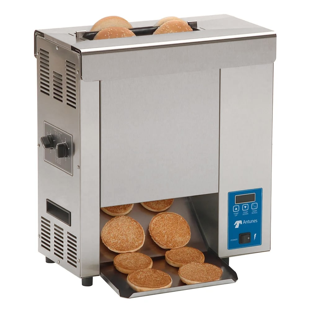 Roundup VCT-2000_9210116 Vertical Toaster w/ 10 Sec Pass-Thru Time & 2 Sided Toasting, 208v/1ph