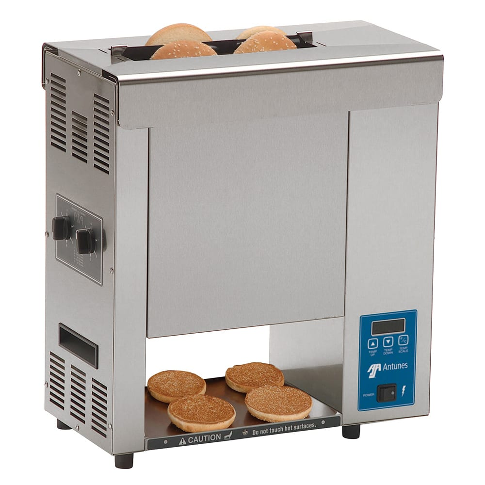 Roundup VCT-2000_9210300 Vertical Toaster w/ 10-Sec Pass-Thru Time & 2-Sided Toasting, 208v/1ph
