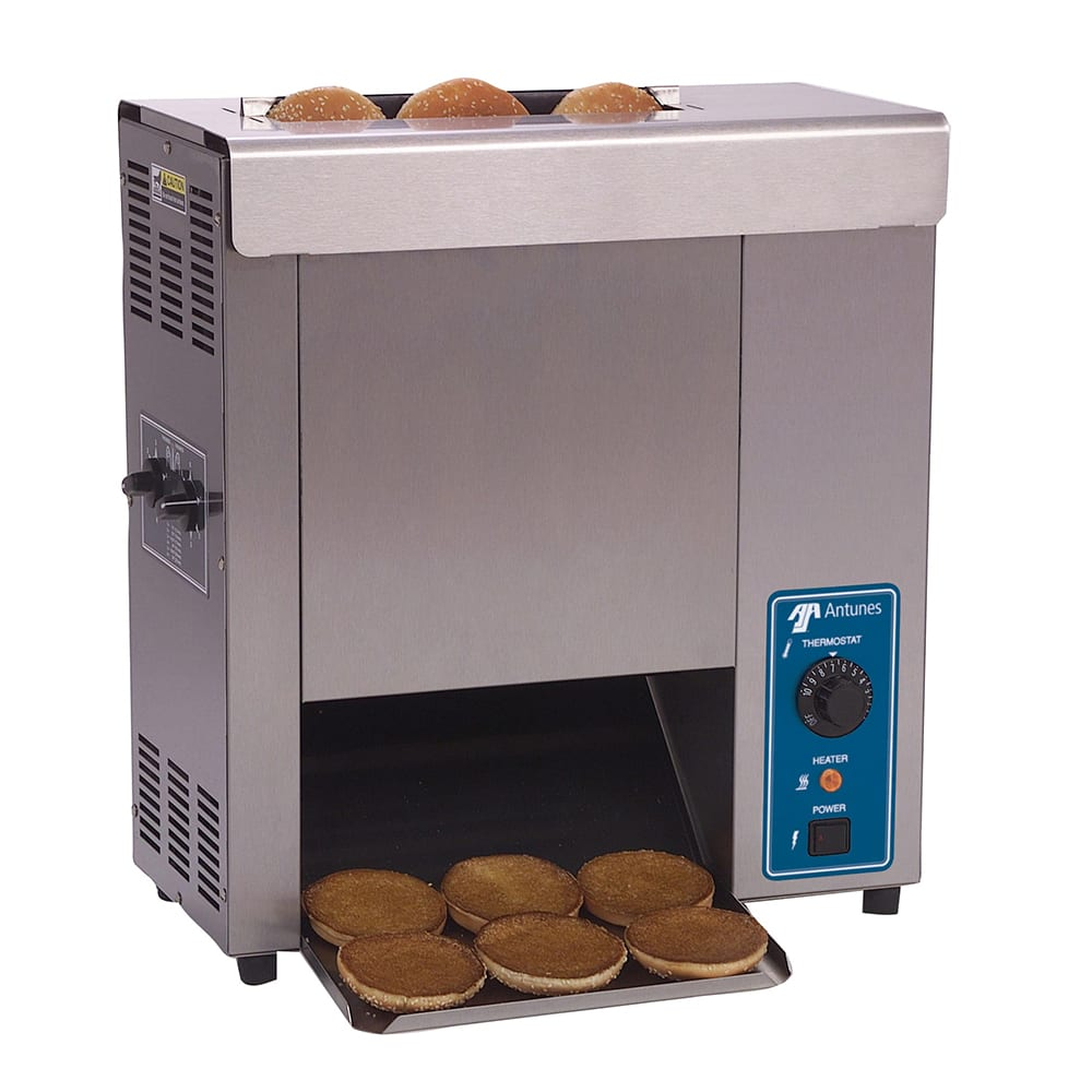 Roundup VCT-25_9200620 Vertical Toaster - 2800-Slices/hr & 2-Sided Toasting, 120v