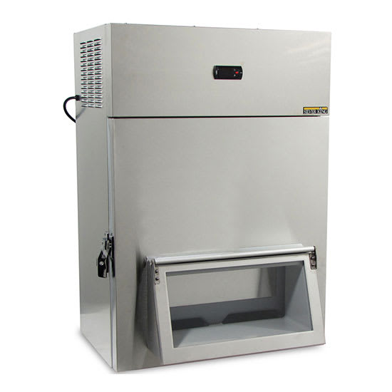 Silver King SK2SB/C17 Lettuce Crisper/Dispenser w/ (50) Head Capacity - Stainless, 115v