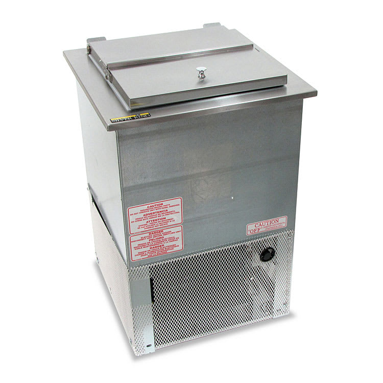 "Silver King SKEDI18-IL-1-BA1 16.6"" Drop-In Ice Cream Freezer, 115v"