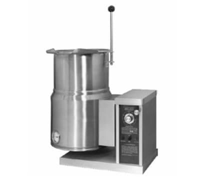 Accutemp ACEC-10TW 10-gal Countertop Tilt Kettle w/Handle, 240v/1ph