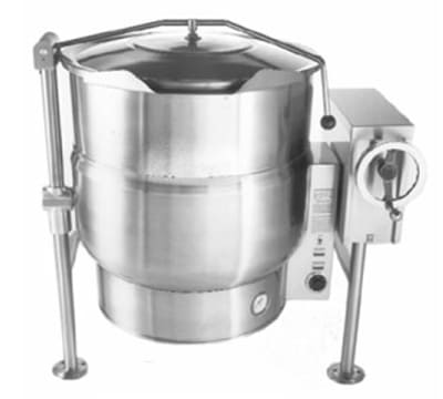 Accutemp ACELT-100 100-gal Tilting Kettle w/ 2/3-Steam Jacket, Stainless, 220v/3ph