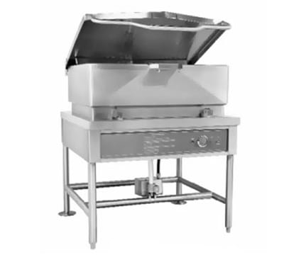 """Accutemp ACELTS-40 40-gal Tilting Skillet w/ 5/8"""" Plate, Stainless, 220v/1ph"""