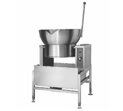 Accutemp ACGCTRS-16 Tilting Skillet w/ 16-gal Capacity & Round Pan, Solid State Thermostatic, NG